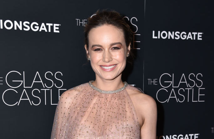 Brie Larson's latest outfit proves that the nude illusion trend is here to stay