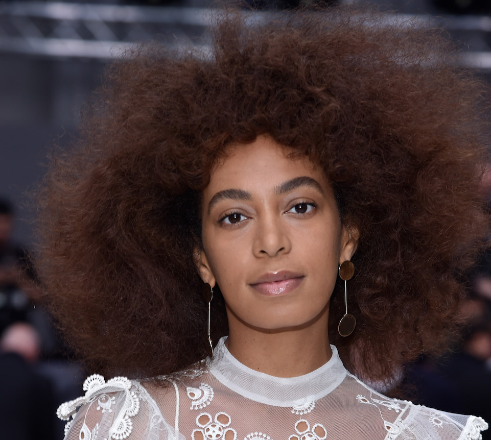 Solange shares a throwback pic of her wedding day hives, and we've all been there