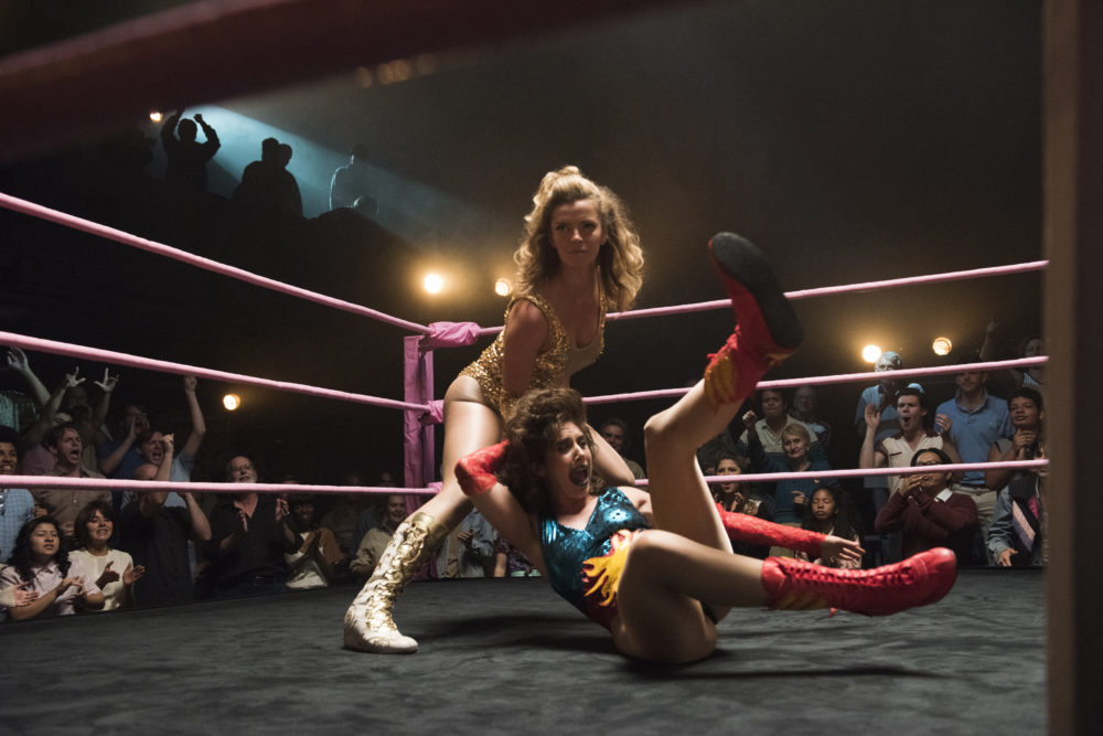 "Netflix renewed ""GLOW"" for Season 2, because females are strong as hell"