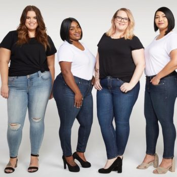 Torrid employees are modeling the brand's new denim styles, and we're ready to wear a pair, too