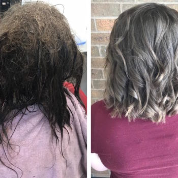 This hairdresser's Facebook post about her client's severe depression is going viral