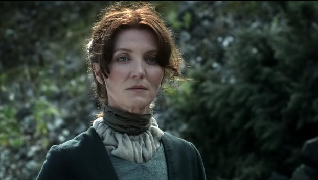 "Catelyn Stark's ghost might have appeared in this creepy ""Game of Thrones"" scene"