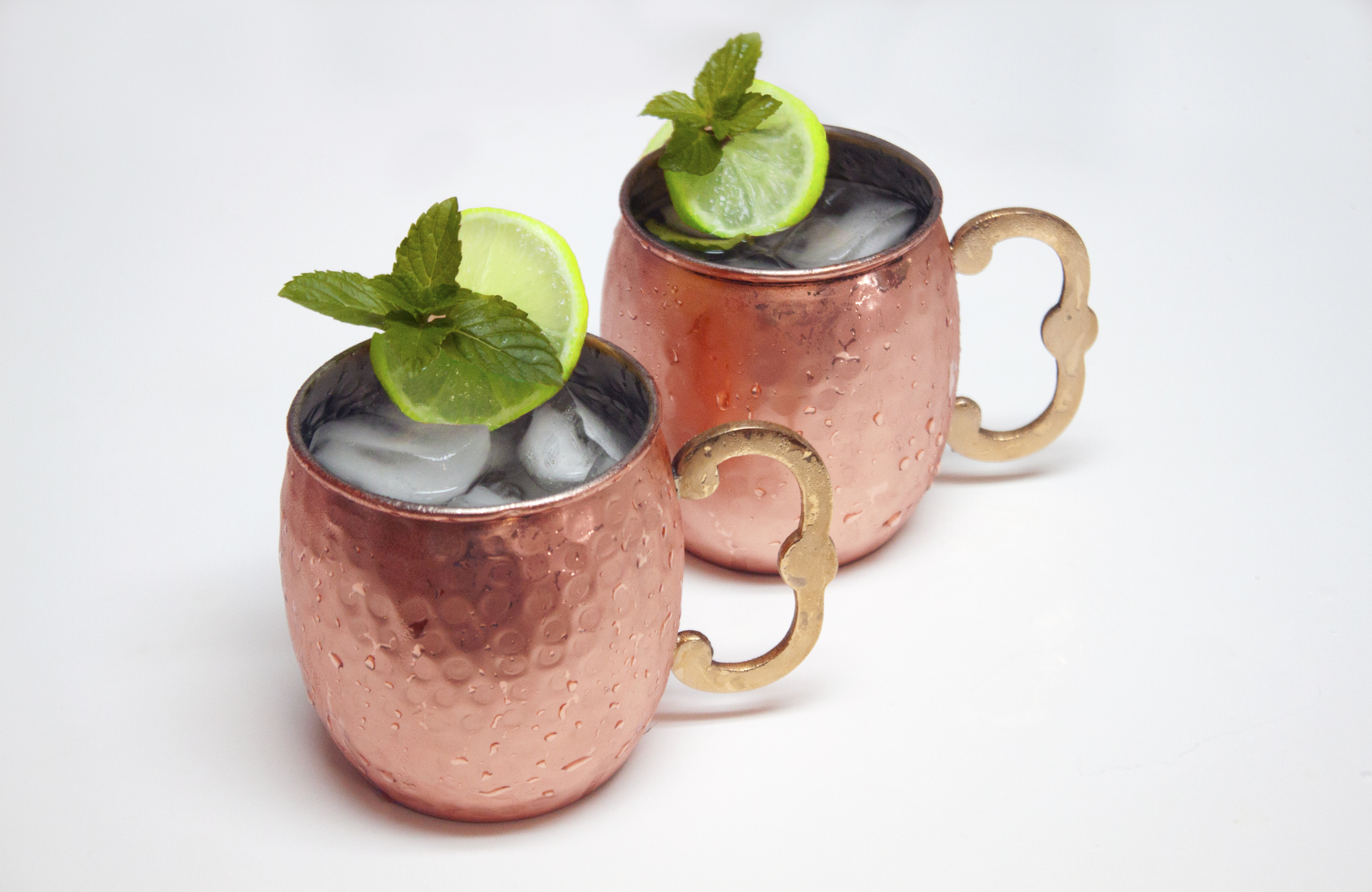 So, those cute copper Moscow Mule mugs might not be safe to drink from
