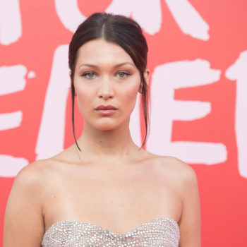 So THIS is why Bella Hadid never smiles in photos