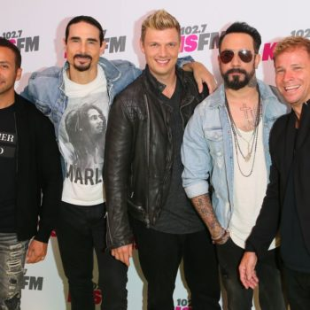 """One of the Backstreet Boys farted while recording """"The Call,"""" and it made the final cut"""