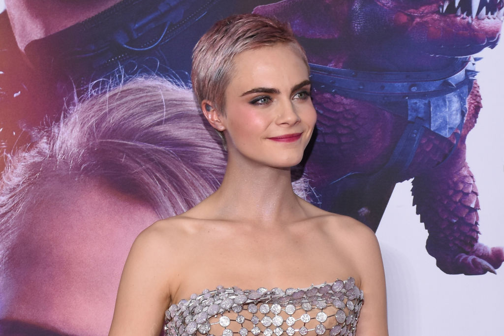 Cara Delevingne had the best 25th birthday ever, complete with T-shirts featuring her own face