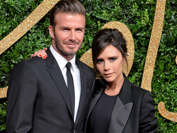 "The Beckhams crashed the ""Modern Family"" set and did their best Dunphy impressions"
