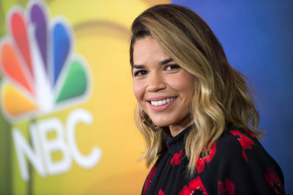 America Ferrera just wore the most elegant leopard print dress we've ever seen
