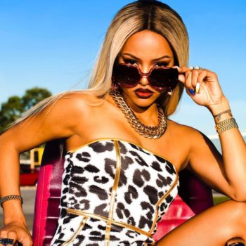 """ColourPop surprise dropped a lipstick inspired by Karrueche Tran's character on """"Claws"""""""
