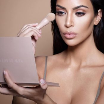 Here's a first look at KKW Beauty's new powder contour and highlighter kits