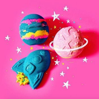Lush is launching (quite literally) a new Rocket Science bath bomb