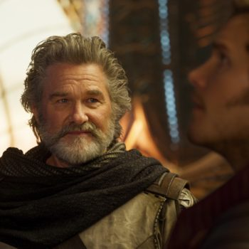"""Kurt Russell couldn't stop calling Chris Pratt """"Star Wars"""" instead of Star-Lord on the set of """"Guardians of the Galaxy Vol. 2,"""" and LOL"""