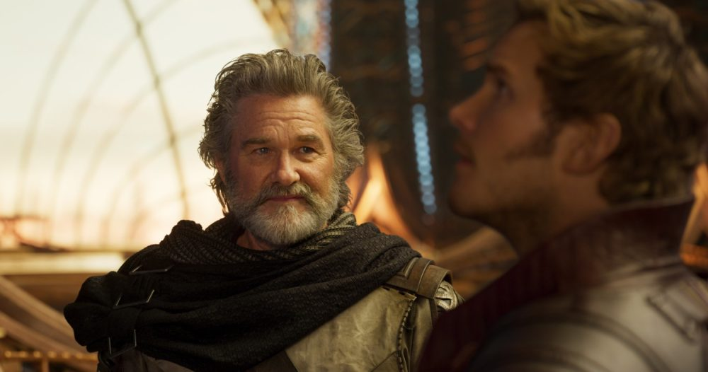 "Kurt Russell couldn't stop calling Chris Pratt ""Star Wars"" instead of Star-Lord on the set of ""Guardians of the Galaxy Vol. 2,"" and LOL"