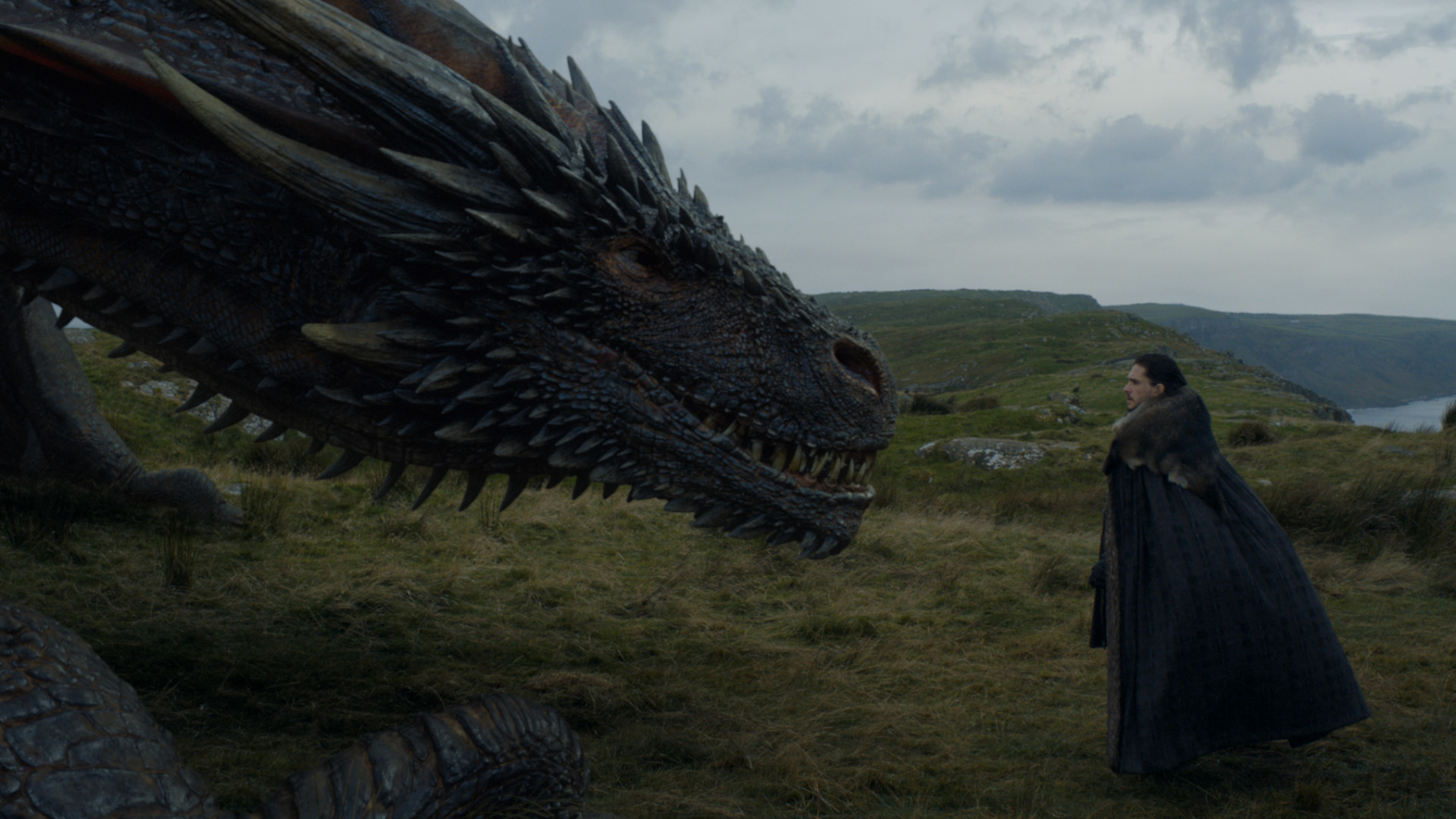 "Jon Snow casually pet a dragon on ""Game of Thrones,"" and we're not freaking out about it nearly enough"