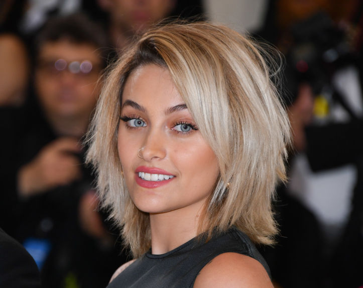 Paris Jackson dyed her hair a color that brings out her blue eyes