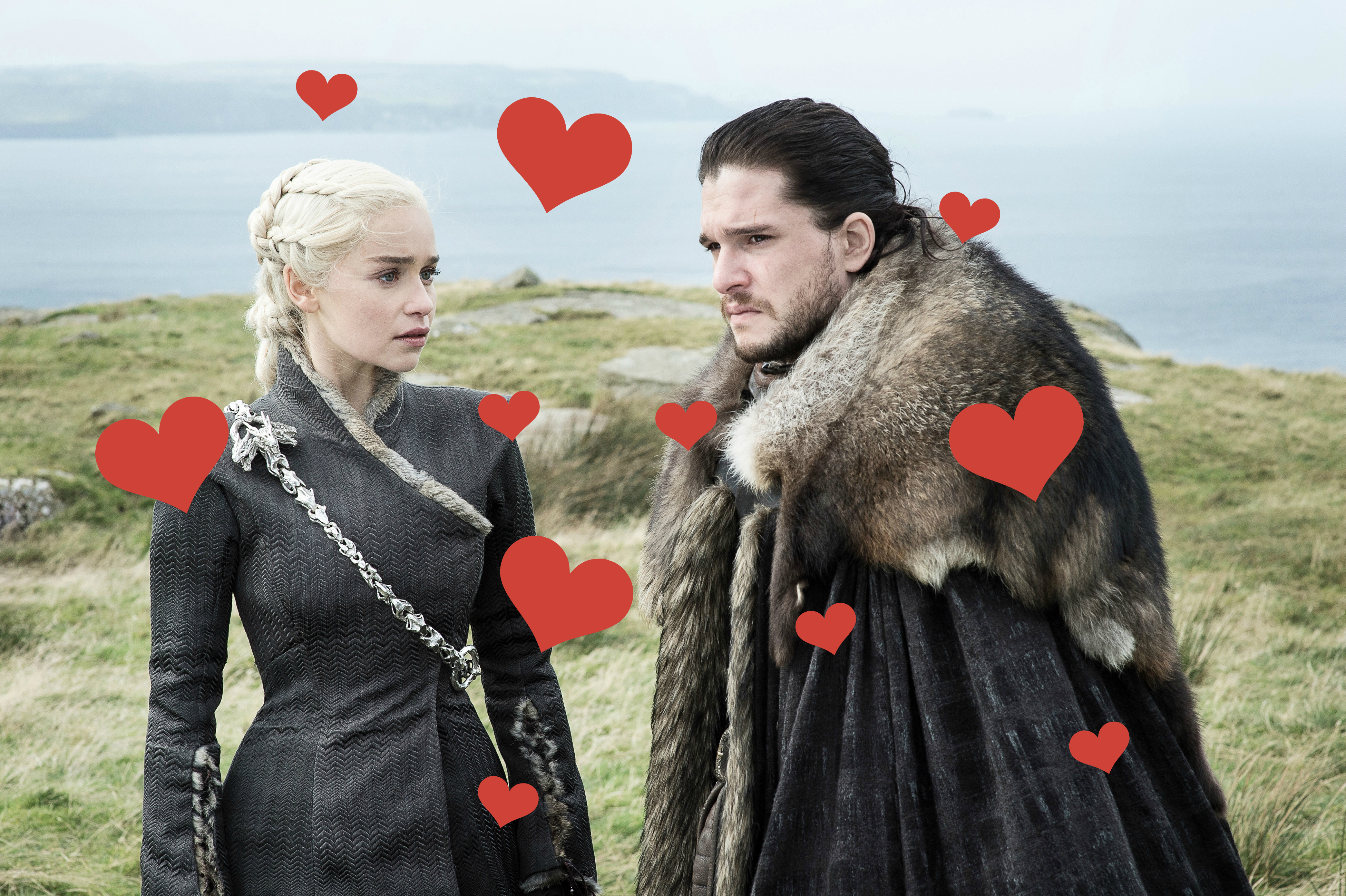 "It's time to admit it: Jon and Dany totally have feelings for one another on ""Game of Thrones"""