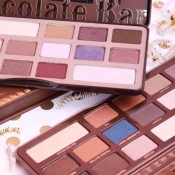 Too Faced is launching a new Chocolate Bar eyeshadow palette, and it's dripping in gold
