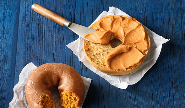 Dunkin' Donuts just got their cream cheese ready for fall