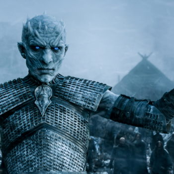 Someone made a map comparing Jon Snow's journey to the Night King's, and White Walkers are hella slow