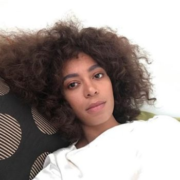 Solange Knowles just deleted her Twitter account, but not before posting a political call-to-action