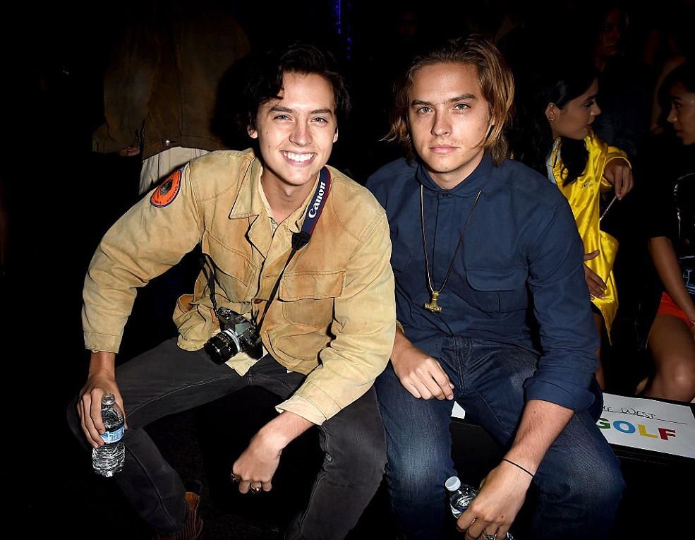 Cole and Dylan Sprouse's dad could legit be their triplet