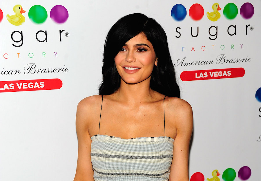 Kylie Jenner's flirty red dress has us seeing stars, and here's where you can buy it