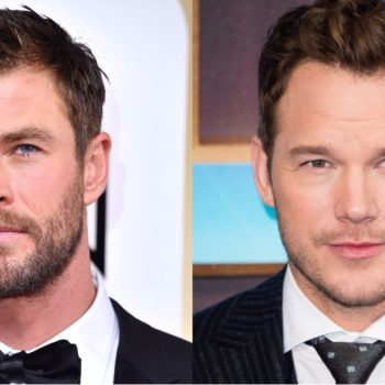 Chris Hemsworth was intimidated by Chris Pratt, so factor that in when picking a favorite Chris