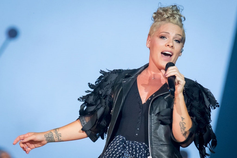 Pink shared a breast pumping selfie, and this is why we're cheering