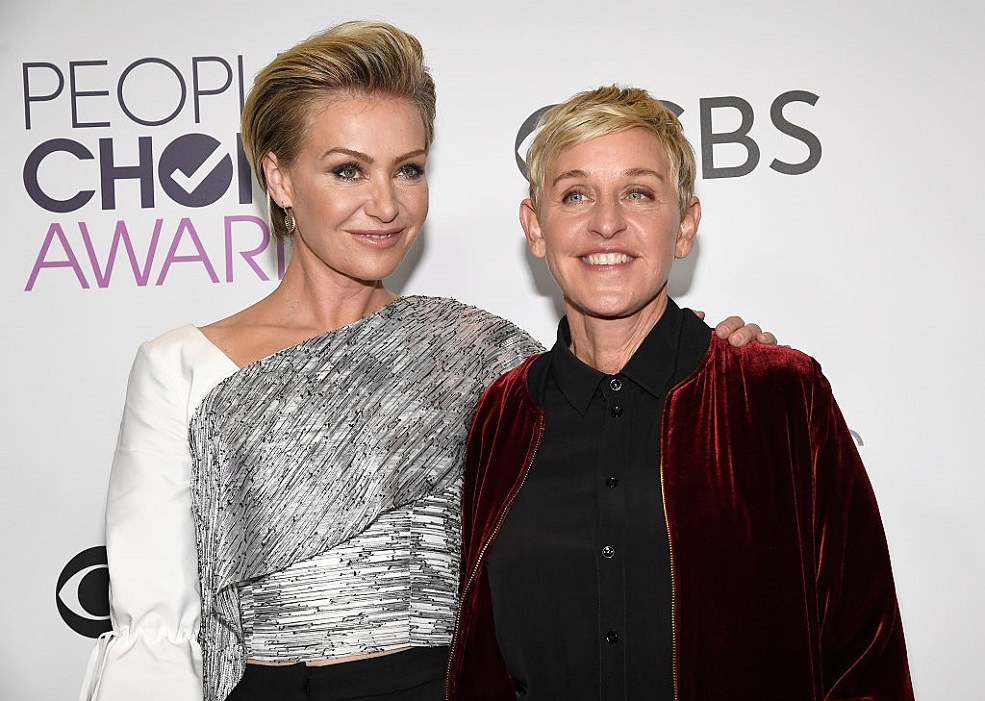 Ellen DeGeneres posted a gorgeous throwback pic to celebrate her 9th anniversary with Portia de Rossi