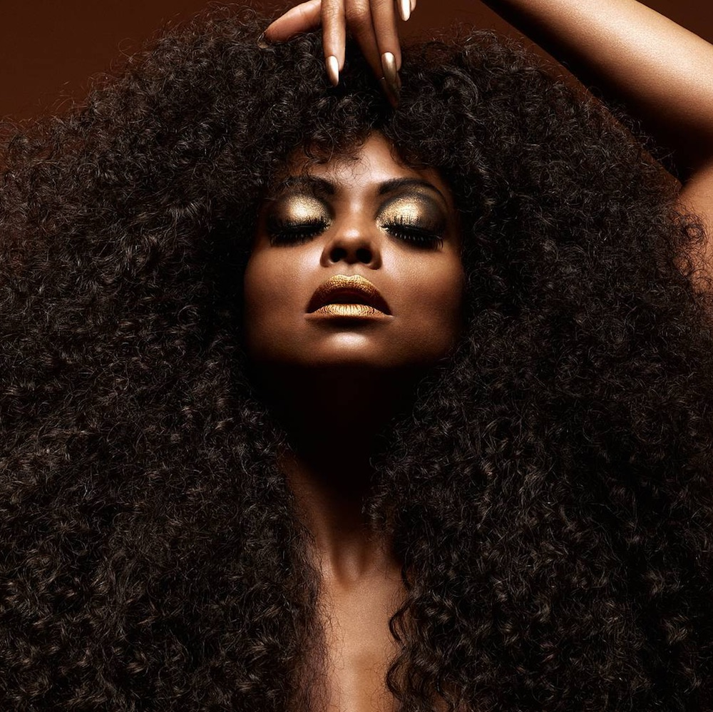 Taraji P. Henson is serving Diana Ross realness for her new MAC Viva Glam lipstick campaign
