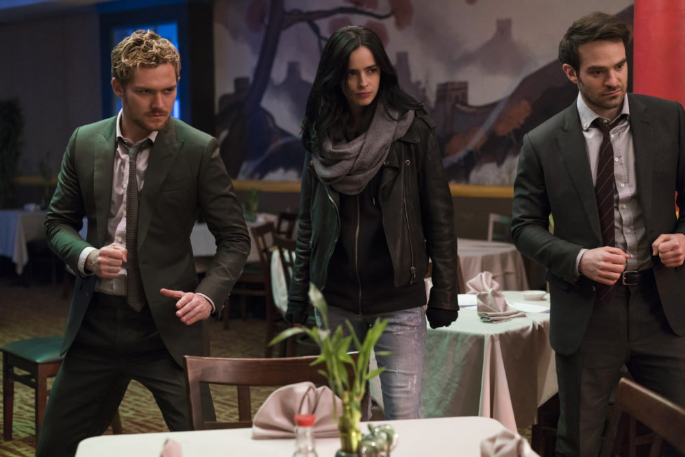 """Even in the face of danger, Jessica Jones is still making jokes in the final trailer for Netflix's """"The Defenders"""""""