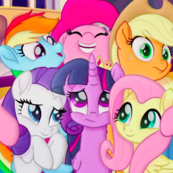 "We've got some brand new ""My Little Pony: The Movie"" art that's so bright, you'll need shades to see it"