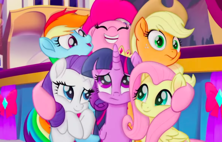 """We've got some brand new """"My Little Pony: The Movie"""" art that's so bright, you'll need shades to see it"""