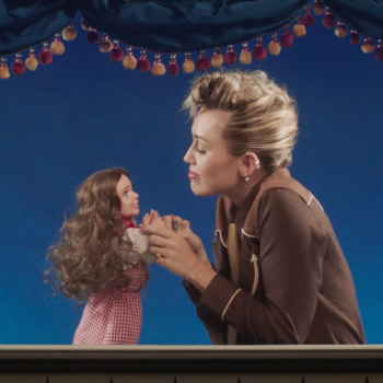 """Miley Cyrus just released the video for """"Younger Now,"""" and yes, she's singing to a puppet"""