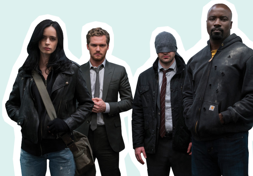 """In celebration of Netflix's """"The Defenders,"""" we spoke with Marvel's makeup artist about how she gets the characters to look badass"""