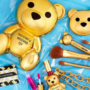 Run, don't walk, because the Sephora x Moschino collection is selling like hotcakes