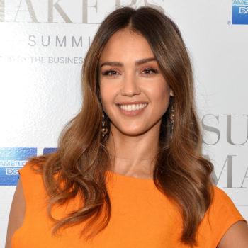 Jessica Alba's maternity date night look will make you want to buy this Topshop robe
