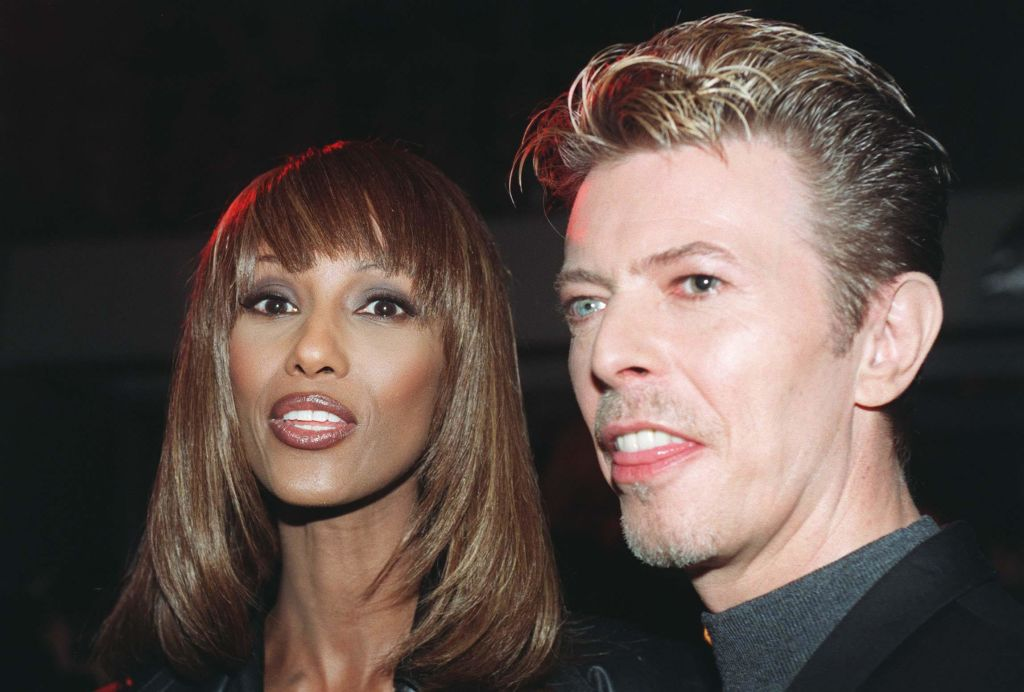 David Bowie's widow, Iman, just posted a rare pic of their 17-year-old daughter, and she's as stunning as you'd think