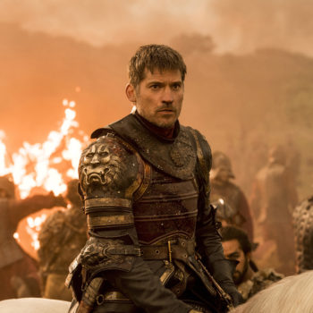 "Nikolaj Coster-Waldau was actually terrified to film that Jaime-in-the-water scene for ""Game of Thrones"""