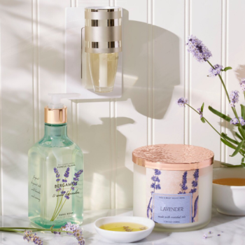 Wind down after a long week with the new Bath and Body Works essential oil collection