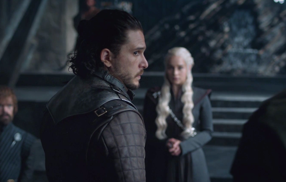 "We need to talk about the fact that Jon Snow is embarrassed to tell Dany he DIED on ""Game of Thrones"""
