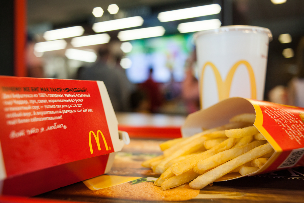 McDonald's Happy Meals come with free books next month, and yes we are happy-crying