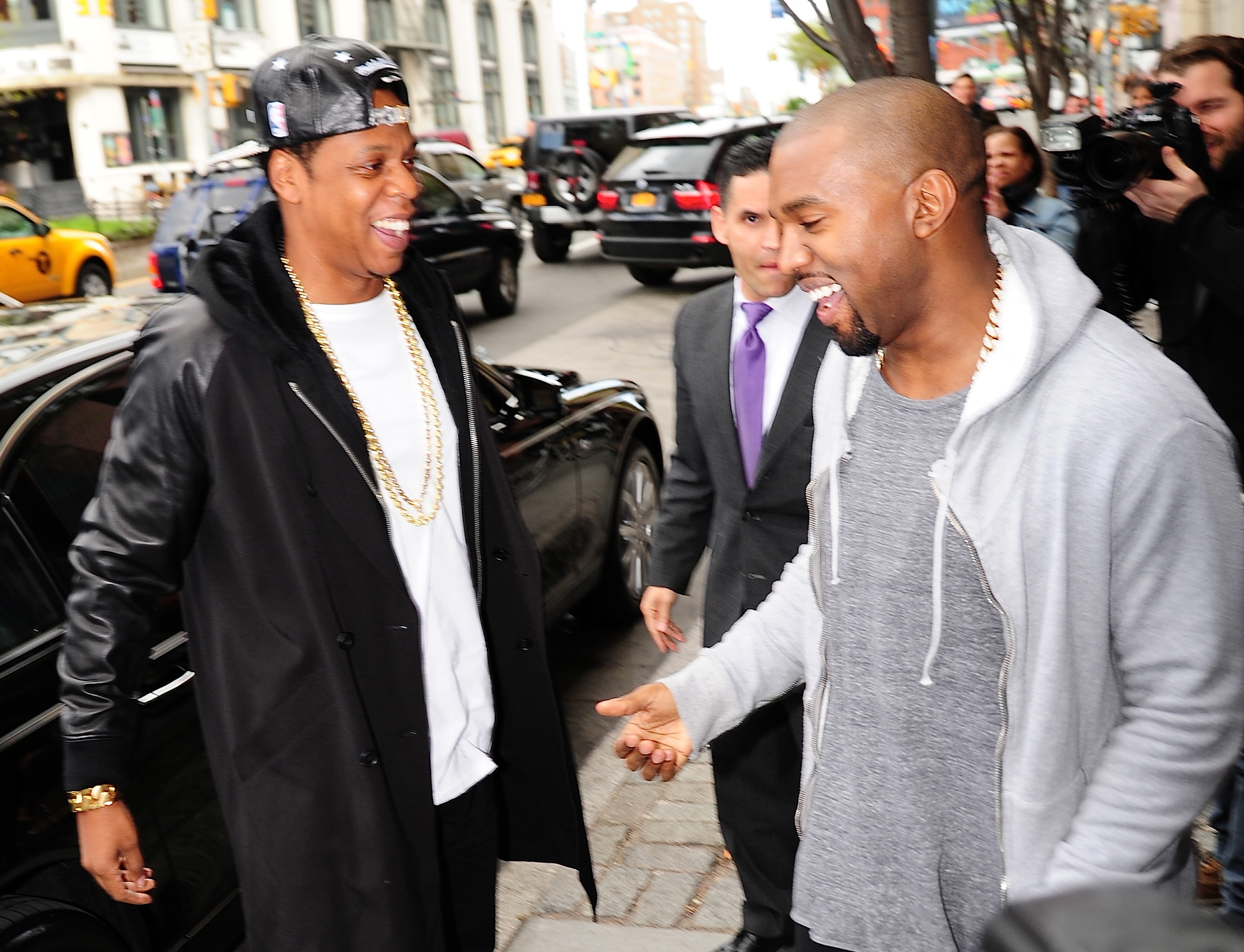 Jay-Z explained why he and Kanye West still have beef