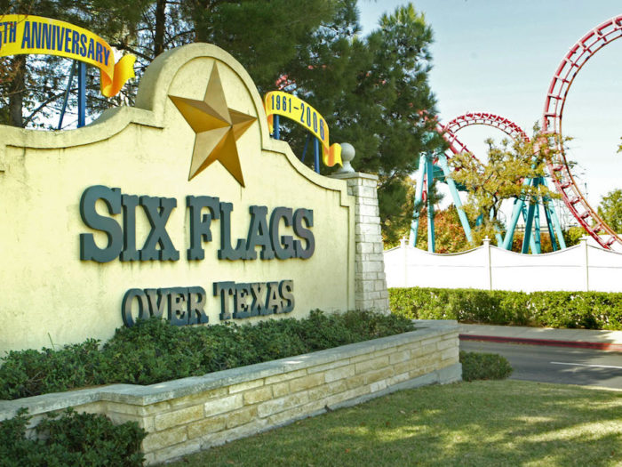 Six Flags in Texas still flying Confederate flag