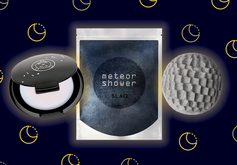 Celebrate the new moon solar eclipse with these cosmic-themed beauty products