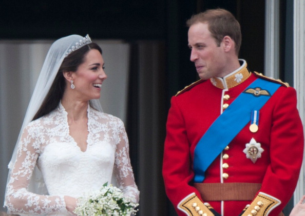 A slice of Prince William and Kate's wedding cake will be auctioned for charity