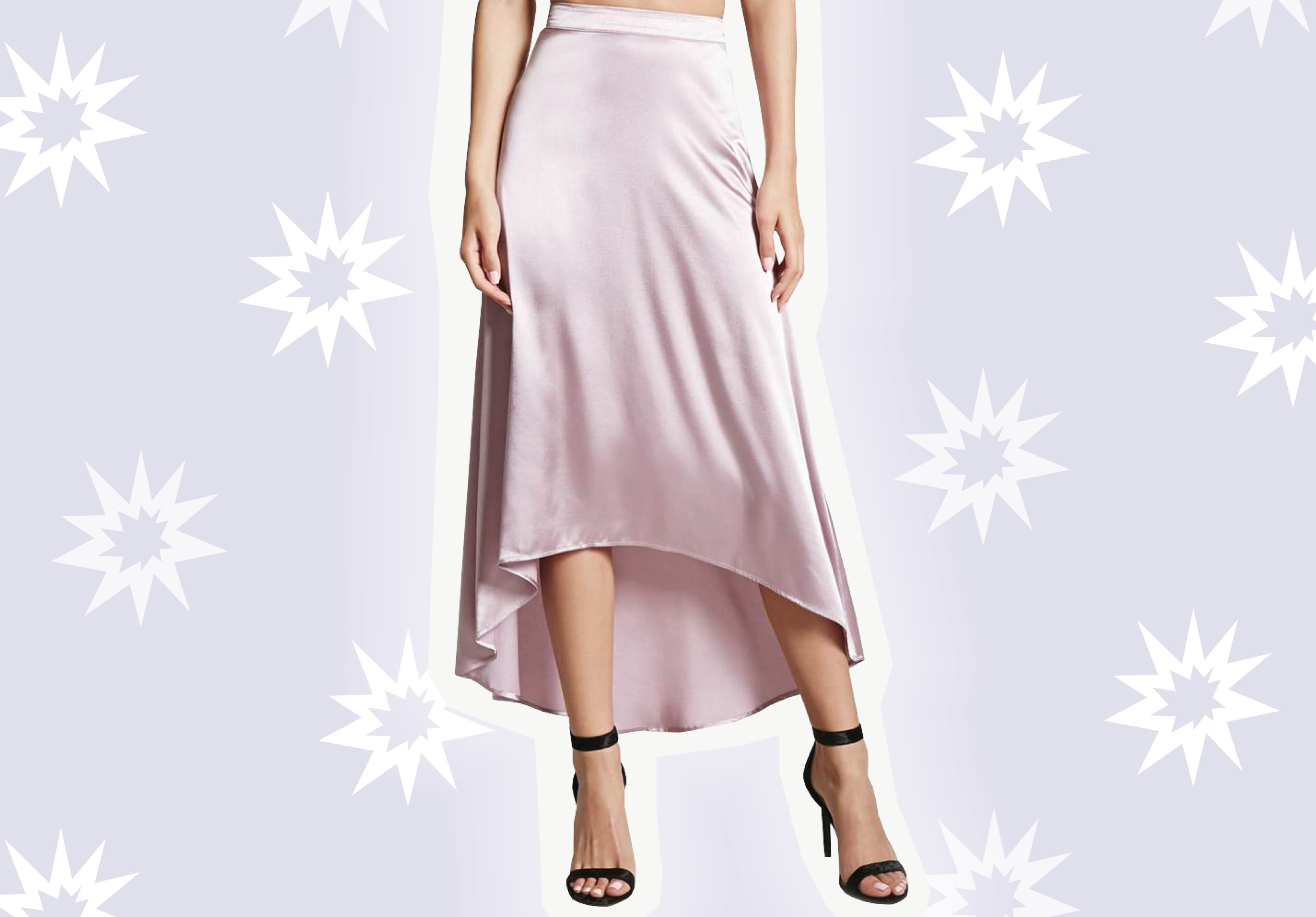 Slip skirts are shaping up to be the next street style trend