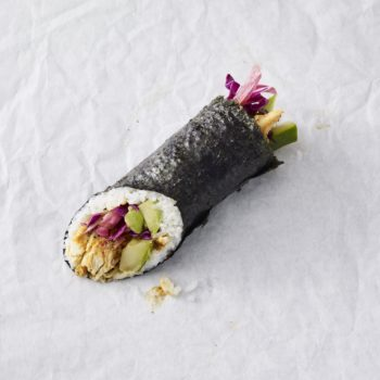 Starbucks now serves sushi burritos — here's where you can get them