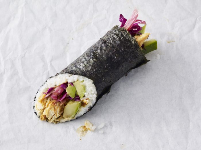Starbucks now serves sushi burritos - here's where you can get them