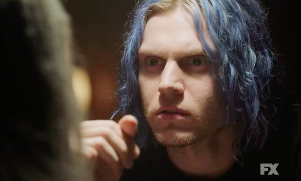"The first footage of ""American Horror Story: Cult"" is here, and you're not going to like Evan Peters this time"
